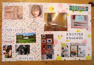 Collage werk AtelierDeLuxe