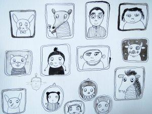 alle portretten