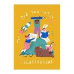 See you later illustrator Kunsthal