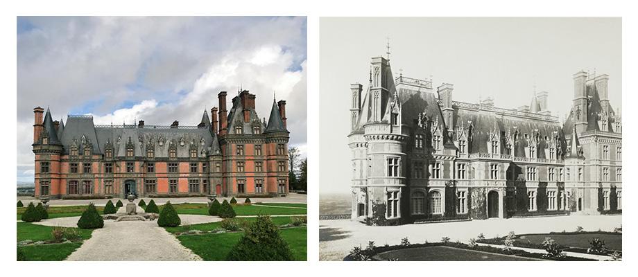 Het roze kasteel: Domaine de Trévarez in Bretagne