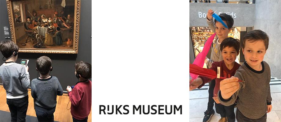 Gastblog: Naar het Rijksmuseum met 3 kinderen!