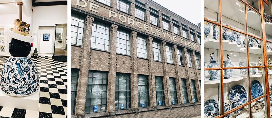 Gastblog: Naar de Koninklijke Porceleyne fles in Delft